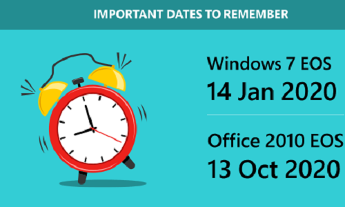 Be On Top Of Windows 7 And Office 2010 End-of-Support.